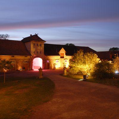 Rittergut Remeringhausen - Abenddämmerung