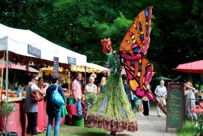 Bild 2: Gartenfestivals auf dem Rittergut Remeringhausen