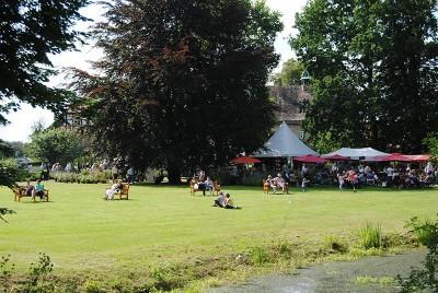 Gartenfestivals auf dem Rittergut Remeringhausen