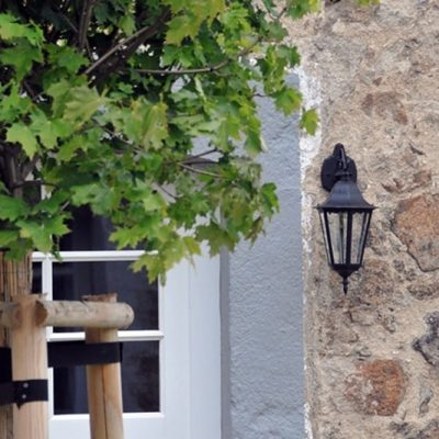 Rittergut Bocka - Detailansicht Innenhof