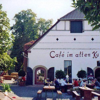 Rittergut Meinbrexen - Café im alten Kuhstall