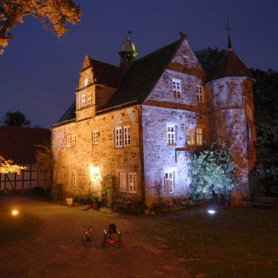 Rittergut Remeringhausen beleuchtet
