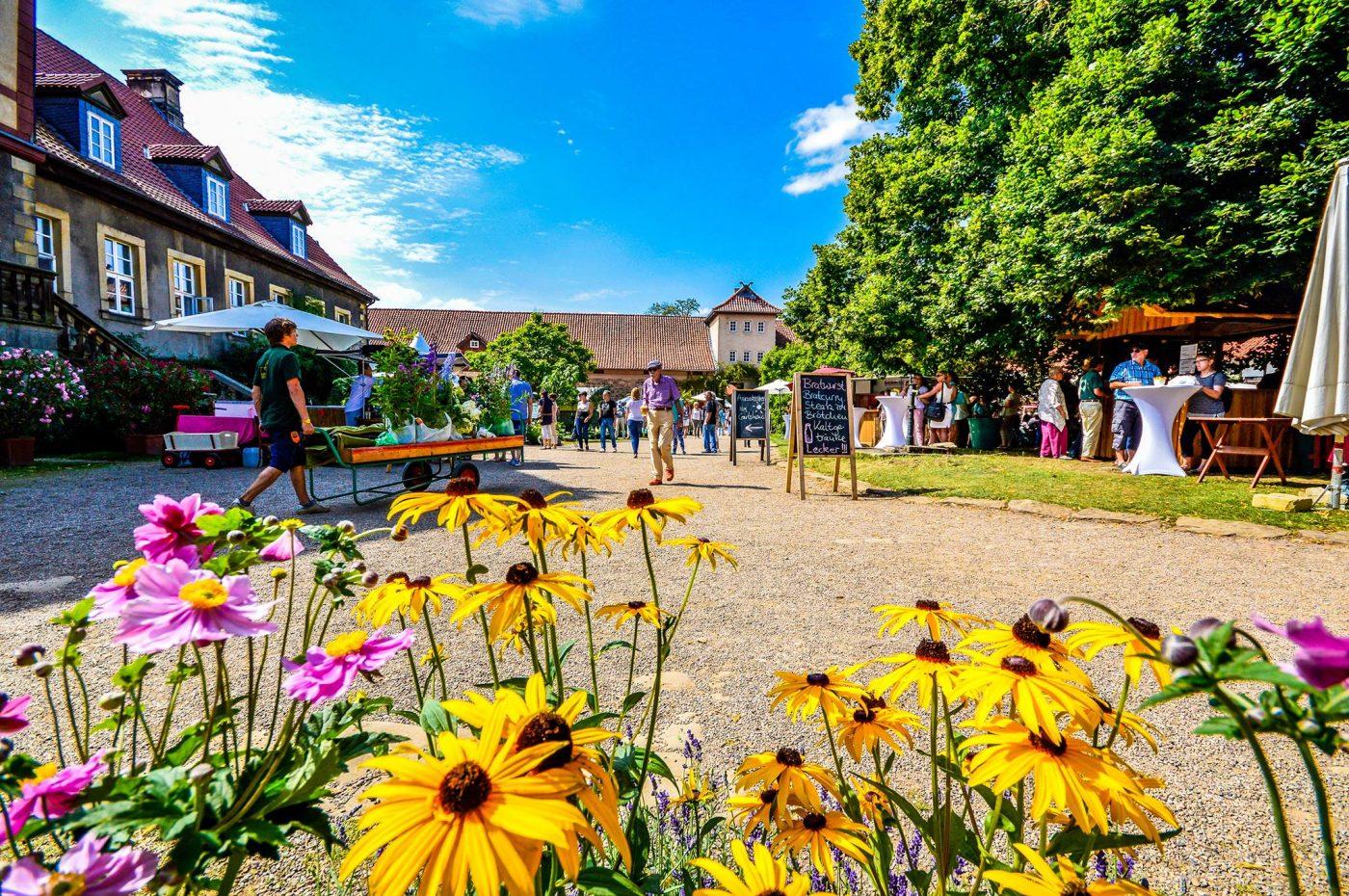 Parkfestival Romantic Garden auf dem Rittergut Remeringhausen