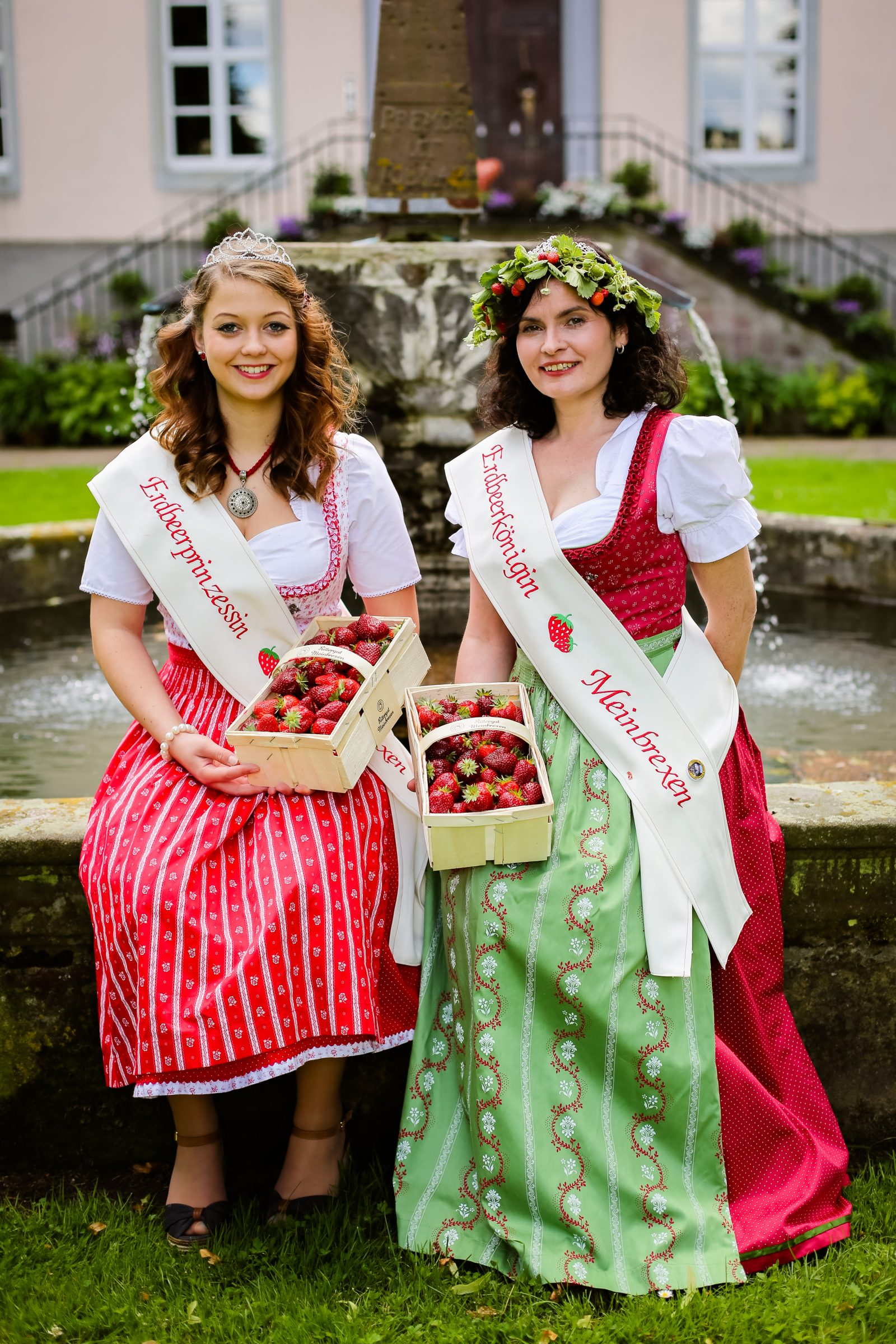 Erdbeeren vom Rittergut Meinbrexen