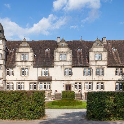 Schloss Wendlinghausen Westseite