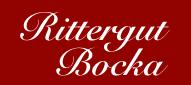 Logo - Rittergut Bocka