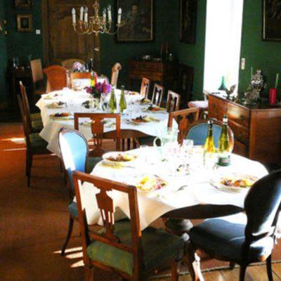 Schloss Harkotten - Frühstücksbuffet