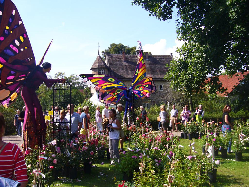 Romantic Garden Allodien German Castle Club