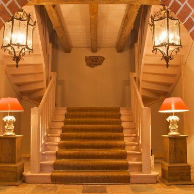 Gut Pronstorf Treppenaufgang